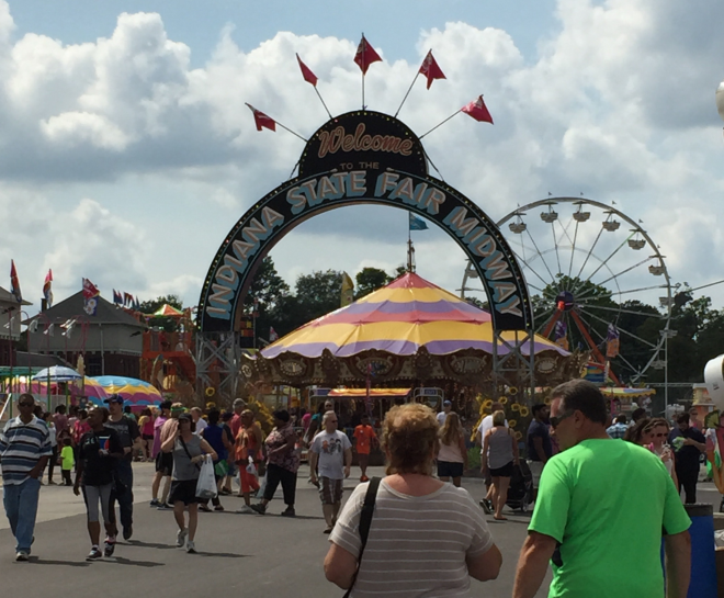 State Fair Midway Arch