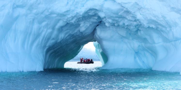 Ice vistas galore