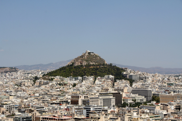 View of Lycabettus Athens