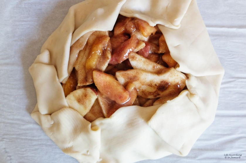 Apple & Peach Crostata 1